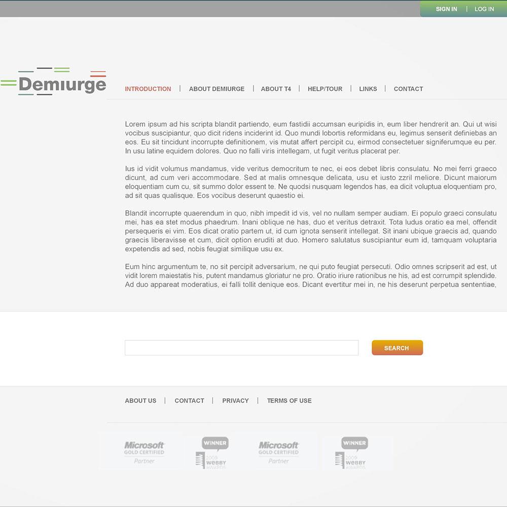 Demiurge Project