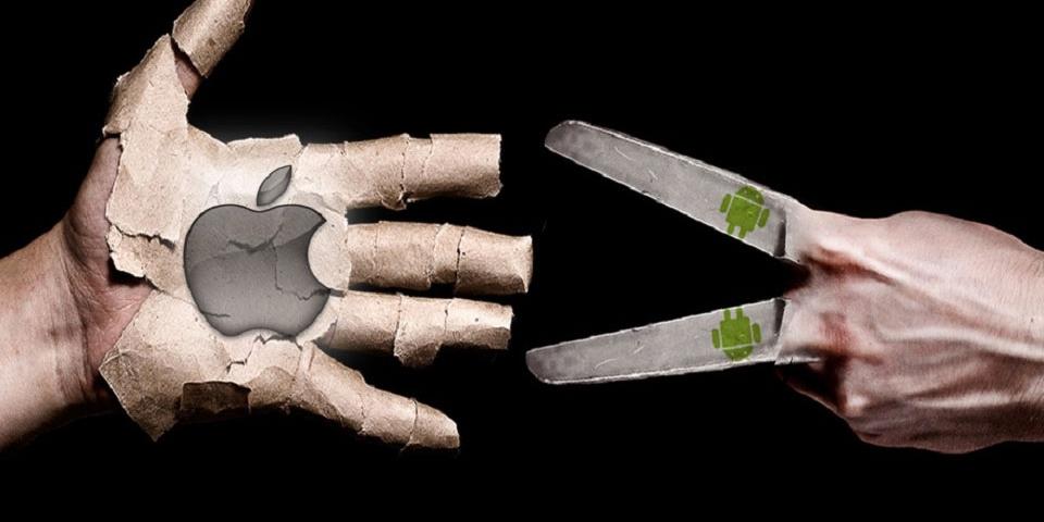 Guerra entre Apple y Google