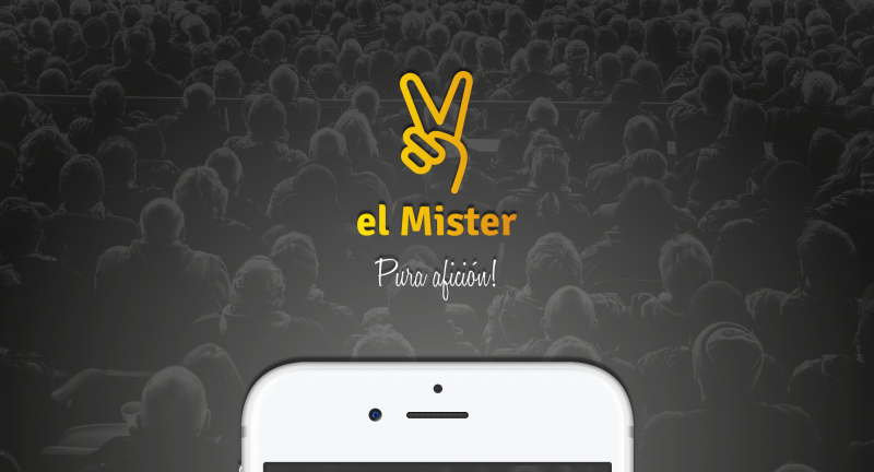 El Mister, an app created for the football fans