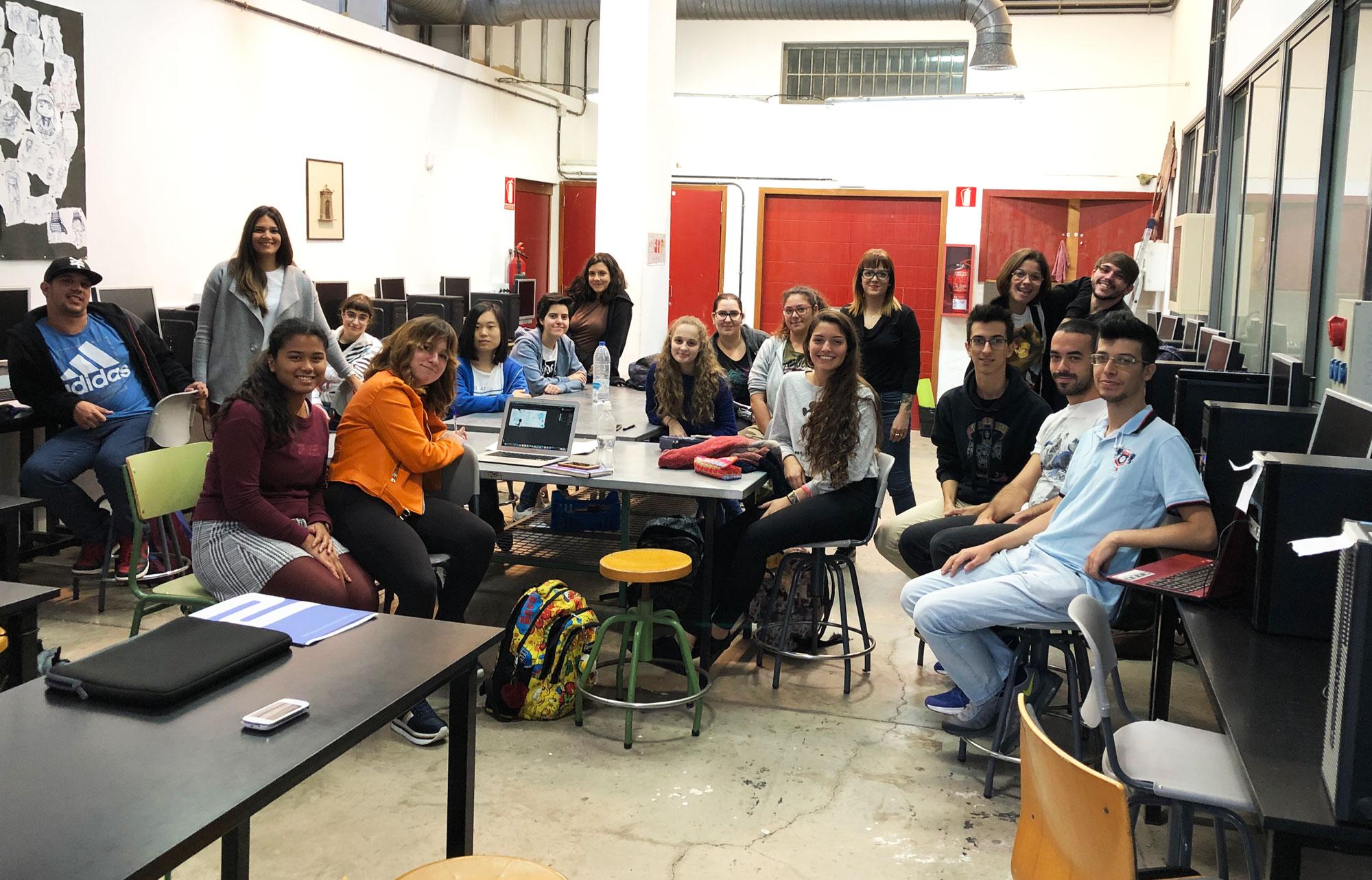 Charla en la Escuela Superior de Diseño de Gran Canaria