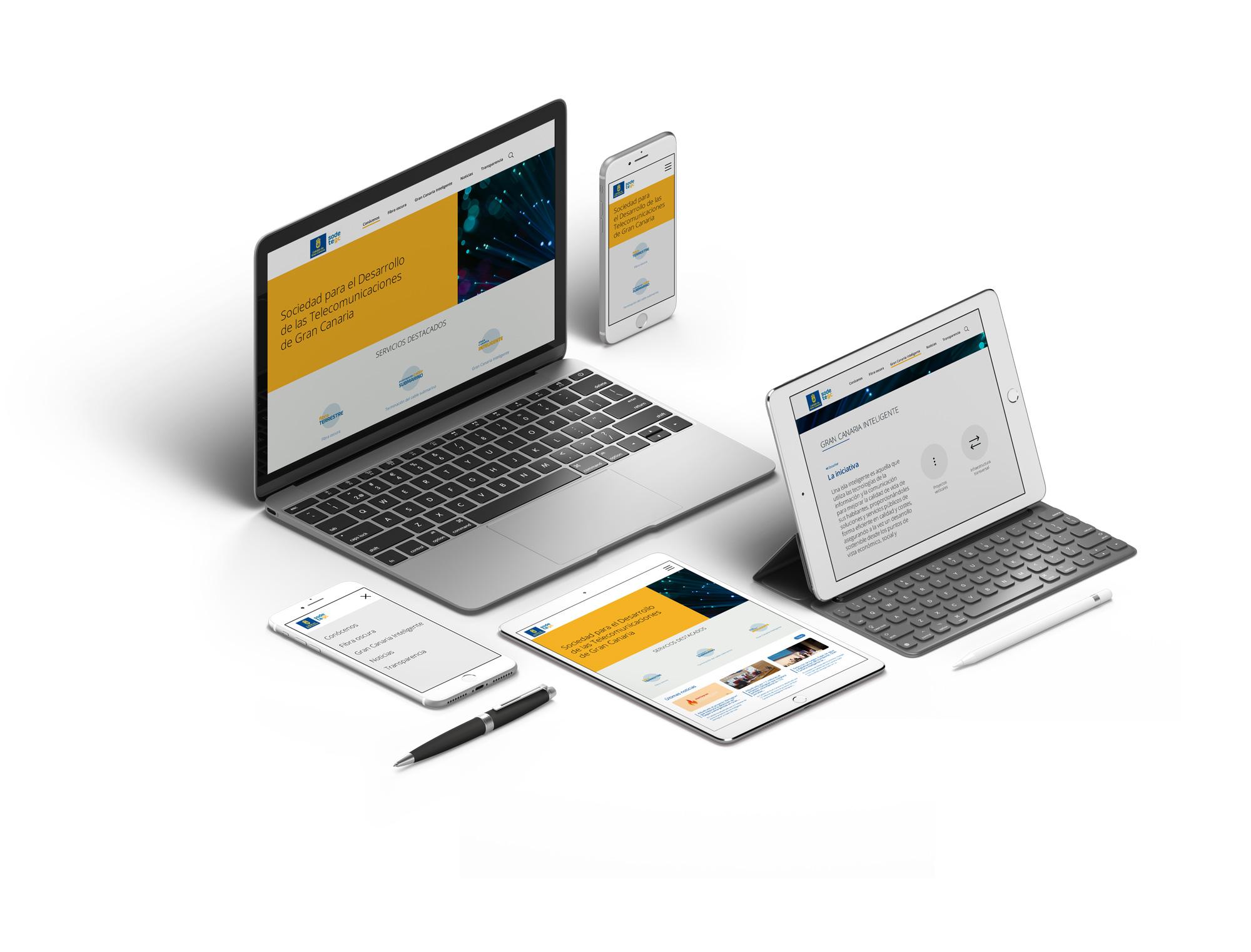 web responsiva sodetegc