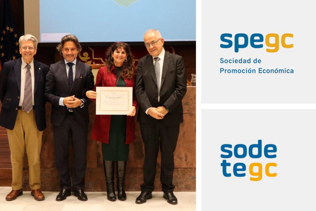 Premio Transparencia SPEGC y SODETEGC