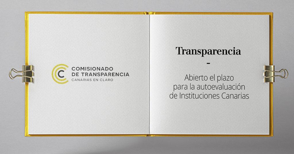 abierto el plazo de autoevaluacion de transparencia canaria